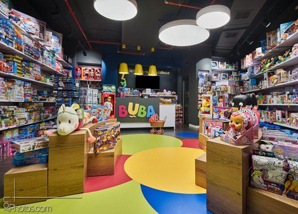 תכנון ועיצוב חנות צעצועים